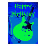Happy Birthday You Rock Greeting Card