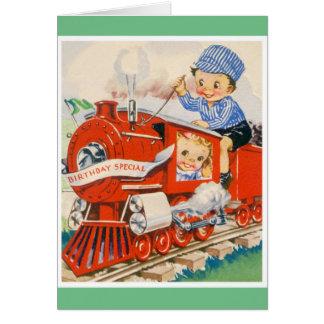 Happy Birthday - Young Boy Card