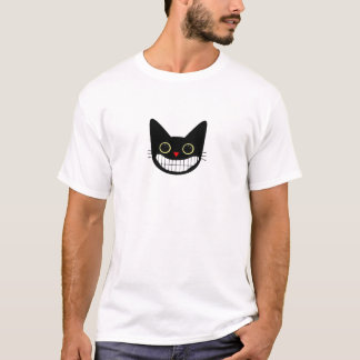 Happy Black Cat T-Shirt