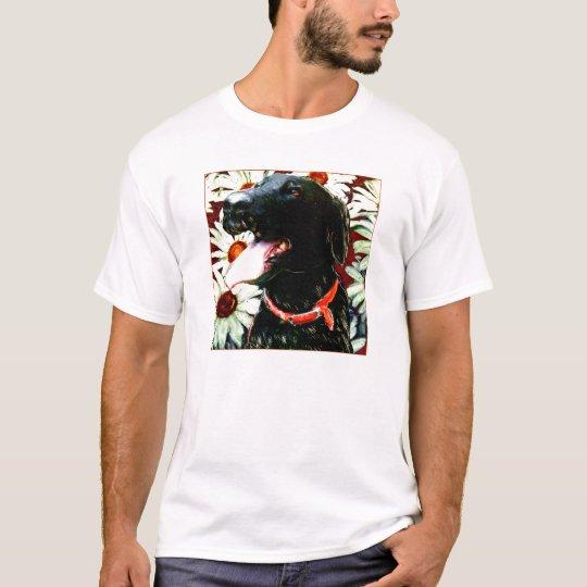 HAPPY BLACK LAB FACE T-Shirt
