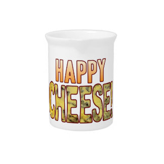 Happy Blue Cheese Pitcher