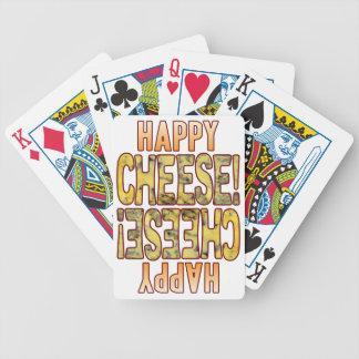 Happy Blue Cheese Poker Deck