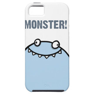 Happy Blue Monster iPhone 5 Case