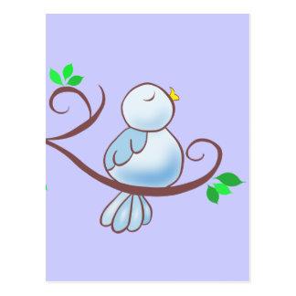 Happy Bluebird Postcard