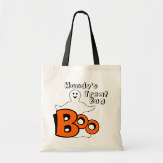 Happy Boo Ghost Treat Bag