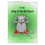 Happy Boss Boss's Day Whimsical Rat Race King