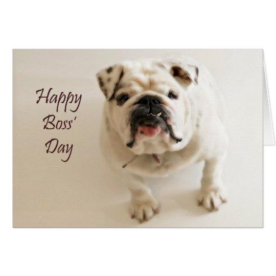Happy Boss' Day Card