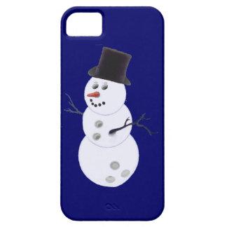 Happy Bowlidays Snowman iPhone 5 Cases