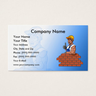 Happy Bricklayer Business Card
