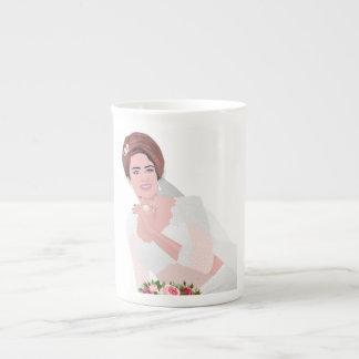 HAPPY BRIDE TEA CUP