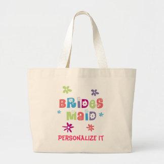 Happy Bridesmaid Jumbo Tote Bag