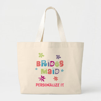 Happy Bridesmaid Canvas Bags
