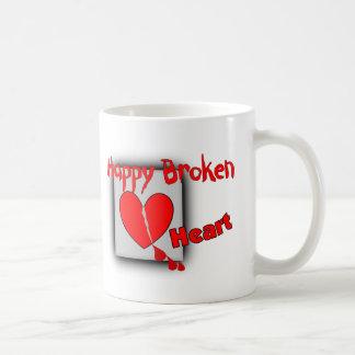 """Happy Broken Heart""--Funny Valentine Gifts Mug"