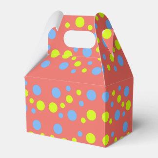 Happy Bubbles Balls Funky Favor Gift Box
