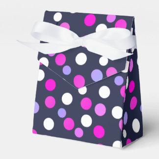 Happy Bubbles Balls Funky Print Favor Gift Box