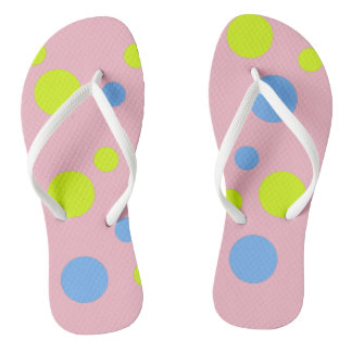 Happy Bubbles Cool Flip Flops