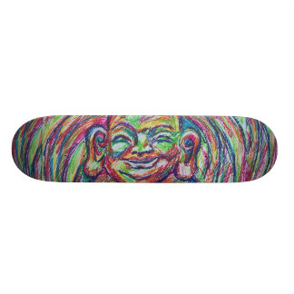 Happy Buddha Board Skateboard Decks