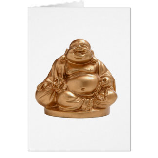 Happy Buddha Card