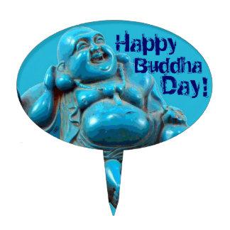 Happy Buddha Day Birthday Party Cake Pick Topper