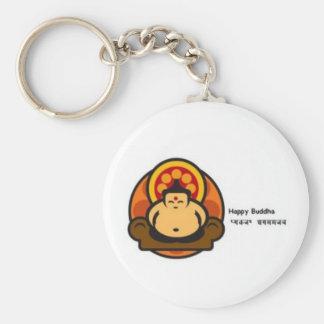 Happy Buddha Key Ring