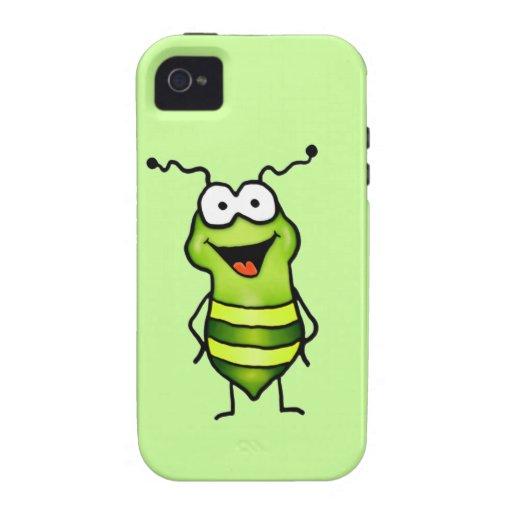 Happy Bug iPhone 4/4S Cases