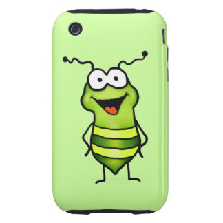 Happy Bug Tough iPhone 3 Case