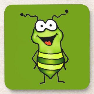 Happy Bug Coasters