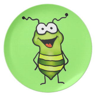 Happy Bug Party Plate