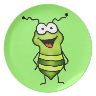 Happy Bug Party Plates