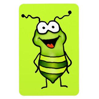Happy Bug Rectangular Magnet