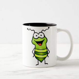 Happy Bug Two-Tone Mug