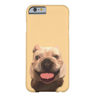 Happy Bulldog Barely There iPhone 6 Case