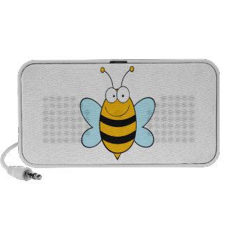 happy bumble bee goofy cartoon travel speaker