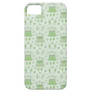 Happy Bunnies in Green iPhone 5 Covers