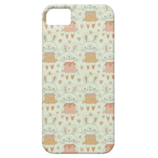 Happy Bunnies in Orange Case For The iPhone 5