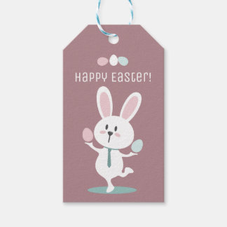 Happy Bunny Easter Gift Tag