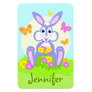 Happy Bunny Personalized Magnets