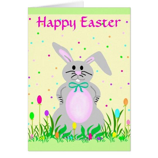 Happy Bunny template card