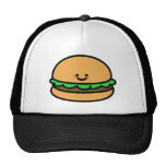 Happy Burger Mesh Hats