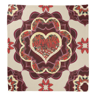 Happy Butterfly Mandala Bandana