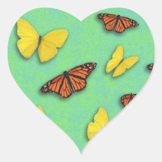 Happy Butterfly Stickers