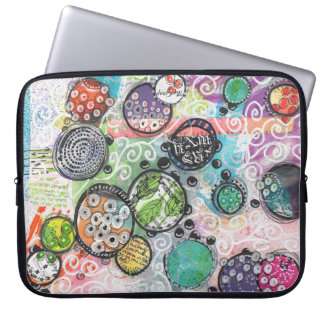 happy c laptop sleeve