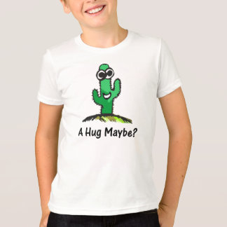 Happy Cactus Cartoon T-Shirt