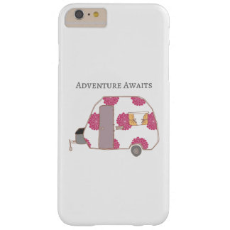 Happy Camper - Adventure Awaits Barely There iPhone 6 Plus Case