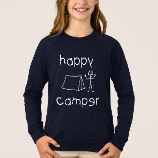 Happy Camper (blk) Sweatshirt