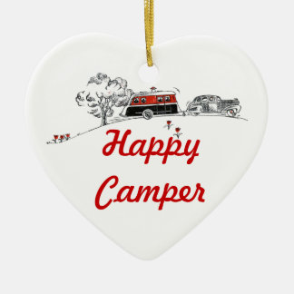 Happy Camper | Camping RV Retired Christmas Ornament
