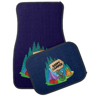 Happy Camper  Car Mats Full Set (set of 2)