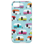 Happy camper caravan hippie retro pattern case for the iPhone 5