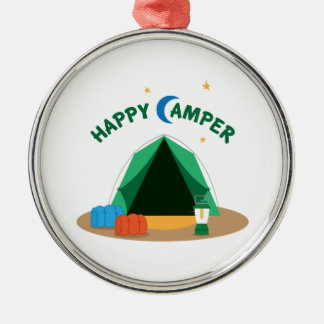 Happy Camper Christmas Ornament