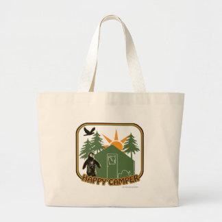 Happy Camper Classic Jumbo Tote Bag